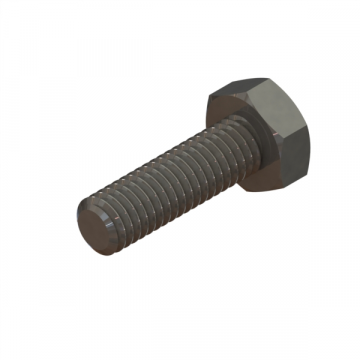 R-522 SCREW M6X1.0X20 HEX CAP ZINC DICHROMATE
