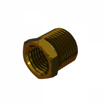 PART-190 RED. BUSHING 3/8 TO 1/4 FM NPT