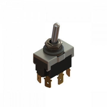 PART-378 SWITCH TOGGLE DPDT 20A ON-ON