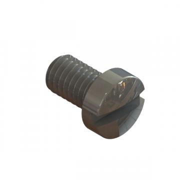R-408 SCREW M6X1.0X10 SLOT CHEESEHEAD ZINC