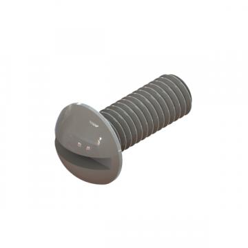 R-774 SCREW #10-32X1/2 FLAT/SQ ROUND ZINC