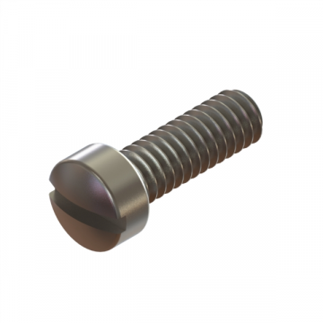 12-42 SCREW 1/4-28X3/4 SLOT FILLISTER NYLONLOCK SS