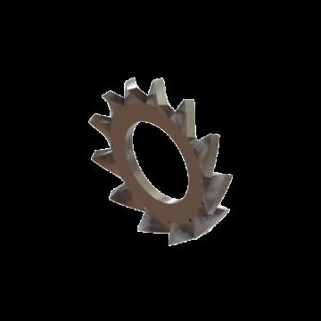 LOCKWASHER M5 TEETH SERRATED ZINC DIN 6798