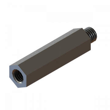 12-87 EXTENSION FOR GREASE FITTING, ALU.