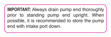 DECAL-43 IMPORTANT TO DRAIN PUMP END DECAL