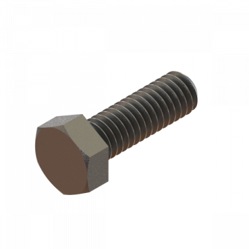 FAST-561 SCREW 5/16-18X1 HEX CAP SS