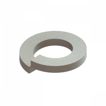 B-2428-18 LOCKWASHER #6 ZINC