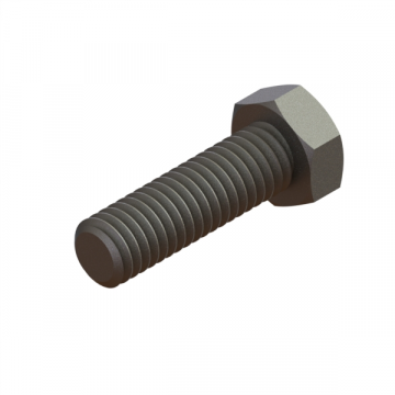 FAST-23 SCREW 3/8-16X1-1/4 HEX CAP ZINC