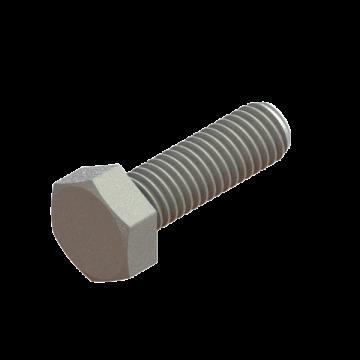 FAST-20 SCREW M6X1.0X20 HEX CAP ZINC