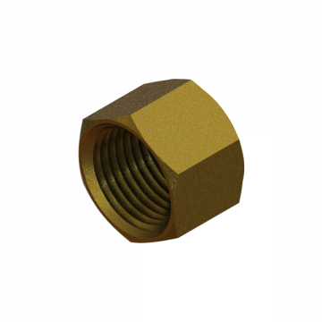 PART-241 CAP 1/2 NPT, BRASS