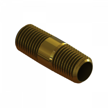 "PART-243 NIPPLE LONG 1/4"" NPT X 1.5"""