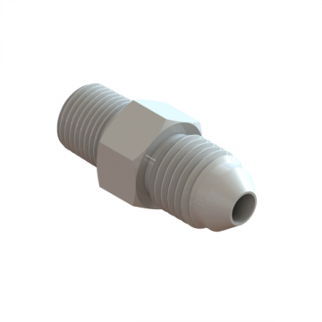 "R-732 CONNECTOR 1/4""TUBE X 1/8""NPT"