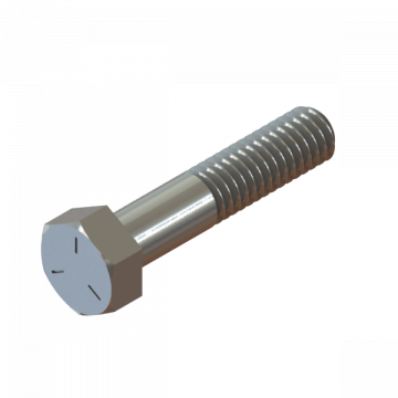 SCREW 5/16-18X1-1/2 HEX CAP ZINC