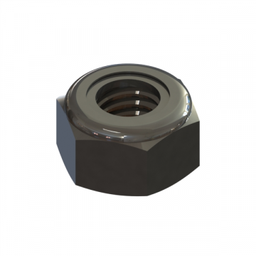 R-150 NUT M6X1.0 HEX FUJI LOCK ZINC