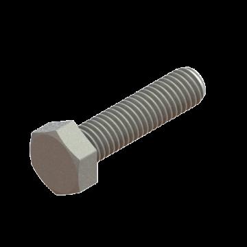 FAST-21 SCREW M6X1.0X25 HEX CAP ZINC
