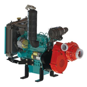 B2X-D902V MID-RANGE FIRE PUMP, 2-STG, DIESEL