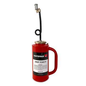 100-00RED DRIP TORCH OSHA DOT APPROVED CAST BOTTOM