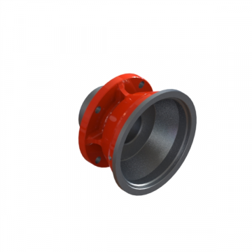 C-6955 FLANGE FOR DRIVE HUB ONLY, ALU.